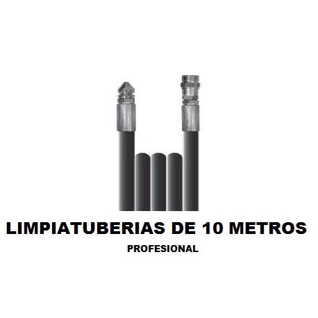 Limpiatuberias 10 metros profesional