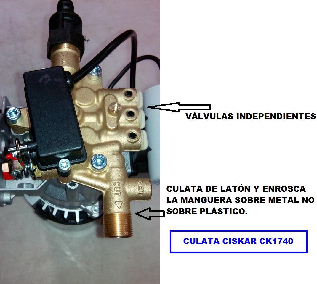 CULATA CISKAR CK1740