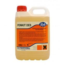 DETERGENTE HIDROLIMPIADORA PONKIT DES (Garrafa 5 litros)